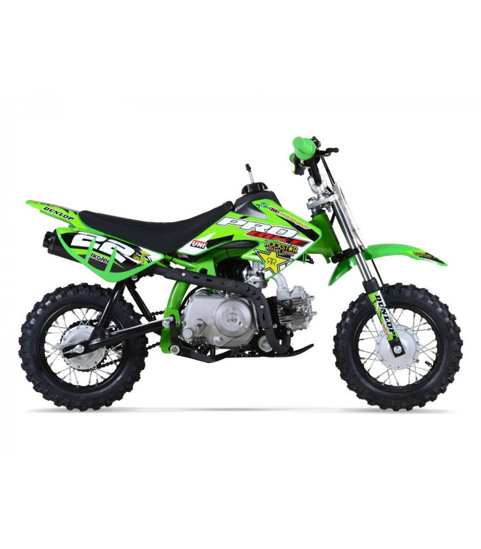 moto essence enfant 50cc vert probike automatique kiddi quad. Black Bedroom Furniture Sets. Home Design Ideas