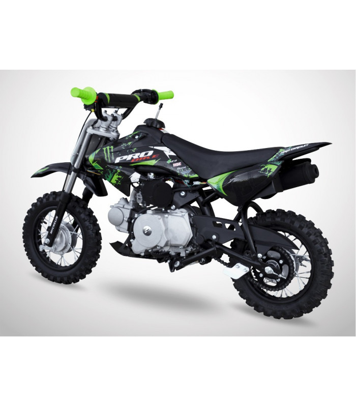 moto essence enfant 50cc noir vert probike automatique kiddi quad. Black Bedroom Furniture Sets. Home Design Ideas