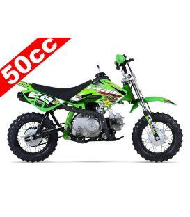 Moto essence enfant 50cc vert PROBIKE Automatique
