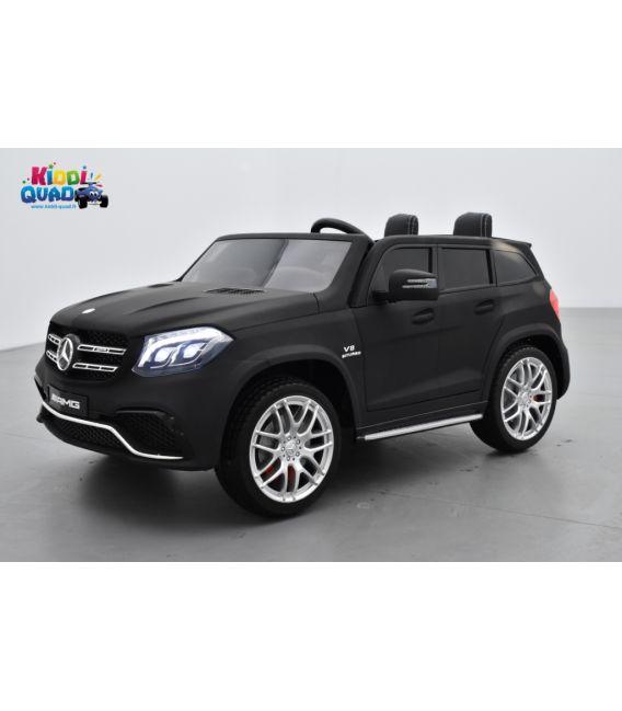 Mercedes GLS 63 4Matic AMG Noir Mat, voiture électrique pour enfant, 12Volts - 4 moteurs