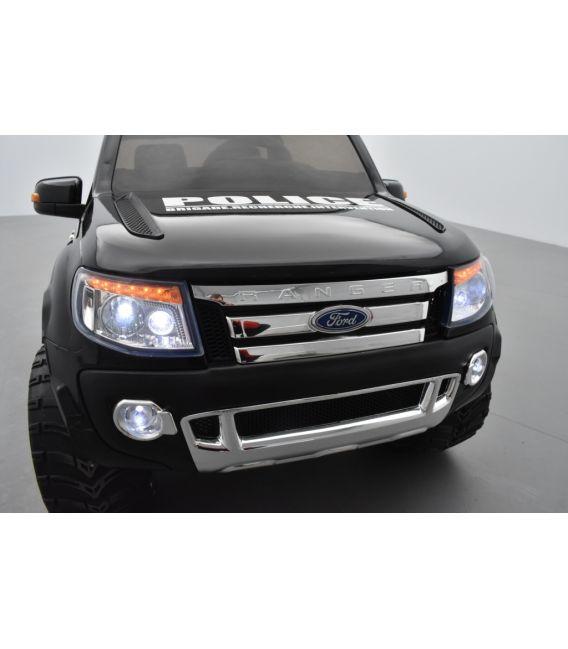 Ford Ranger B.R.I Version Luxe avec télécommande parentale 2,4 GHz, voiture électrique pour enfant 2 places, 12 volts
