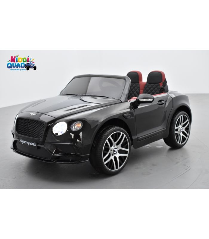 bentley continental supersports noire  voiture  u00e9lectrique