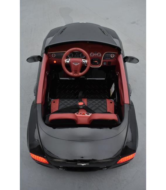 Bentley Continental Supersports noire, Voiture électrique pour enfant, 12Volts - 2 moteurs