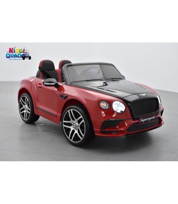 Bentley Continental Supersports rouge, Voiture électrique pour enfant, 12Volts - 2 moteurs