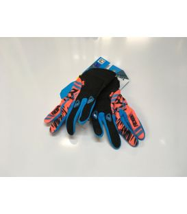 Gants cross enfant Shot Freegun orange fluo moto quad