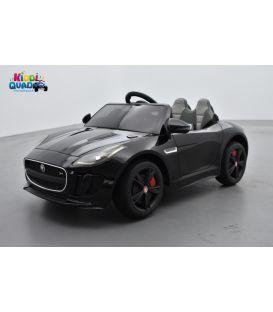 Jaguar F-Type Ultimate Black, voiture électrique pour enfant 12 volts