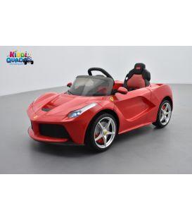 Ferrari LaFerrari 12 volts, voiture électrique pour enfant avec télécommande parentale