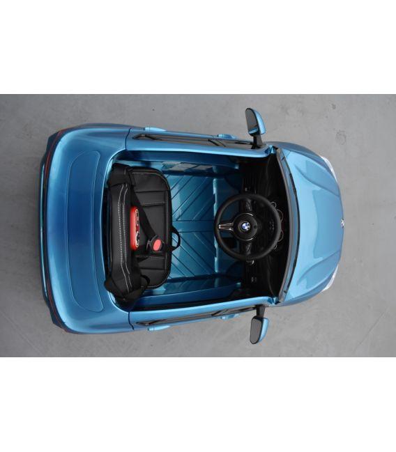 BMW X6 M Bleu Métallisée, Version 1 place, voiture électrique enfant, 12 Volts, 2 moteurs