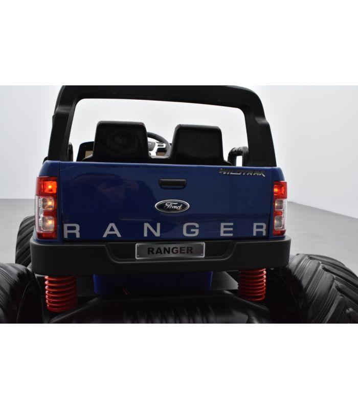 Monster Enfant Électrique Ranger Truck Bleu Ford MétalliséeVoiture deoBCWrx