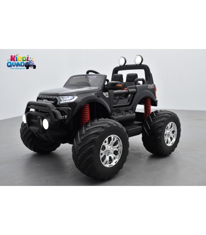 Noir Enfant Électrique Truck Ranger Monster MétalliséeVoiture Ford tQdxshrBC