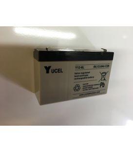 Batterie YUCEL 6V 12AH pour voitures et motos électrique enfant