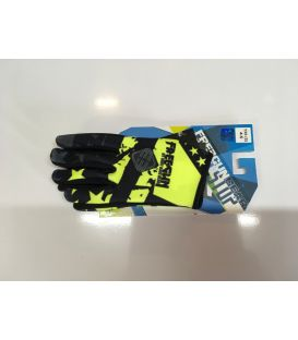 Gants cross enfant Freegun USA neon jaune moto quad