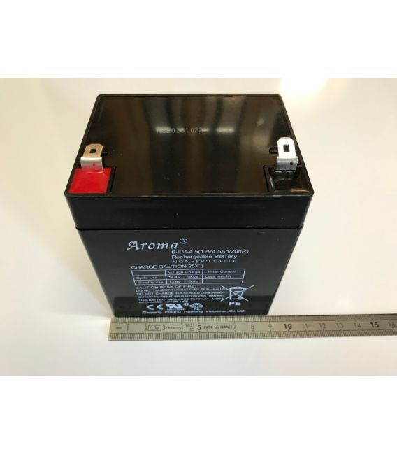 Batterie 12V4.5AH pour voitures et motos électrique enfant