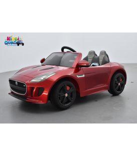 Jaguar F-Type Rouge Caldera, voiture électrique pour enfant 12 volts
