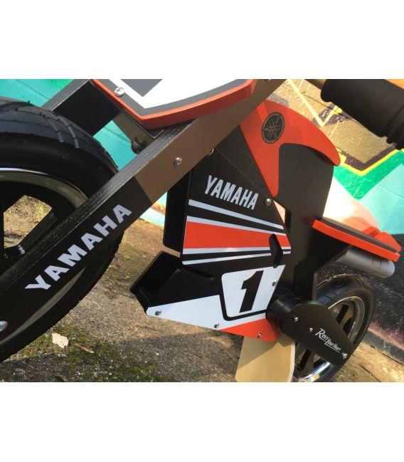 Draisienne bois Yamaha enfant 2/5 ans, licence officielle