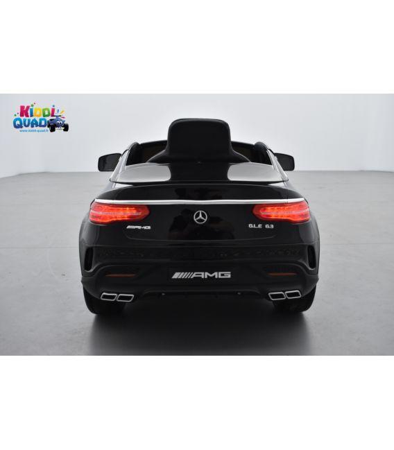 Mercedes GLE  63 Noir Métallisée, voiture électrique pour enfant, 12 Volts - 2 moteurs