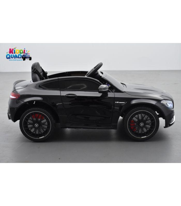 mercedes c63 s coup amg noir m tallis e voiture lectrique pour enfant 12 volts 2 moteurs. Black Bedroom Furniture Sets. Home Design Ideas