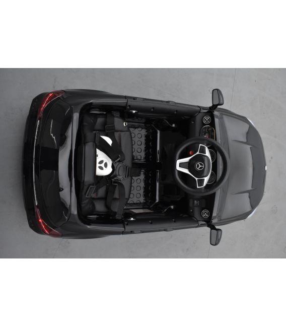 Mercedes GLA45 Noir Métallisée, voiture électrique pour enfant, 12 Volts - 2 moteurs
