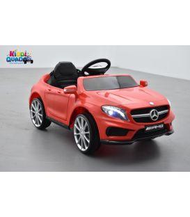 Mercedes GLA45 Rouge, voiture électrique pour enfant, 12 Volts - 2 moteurs
