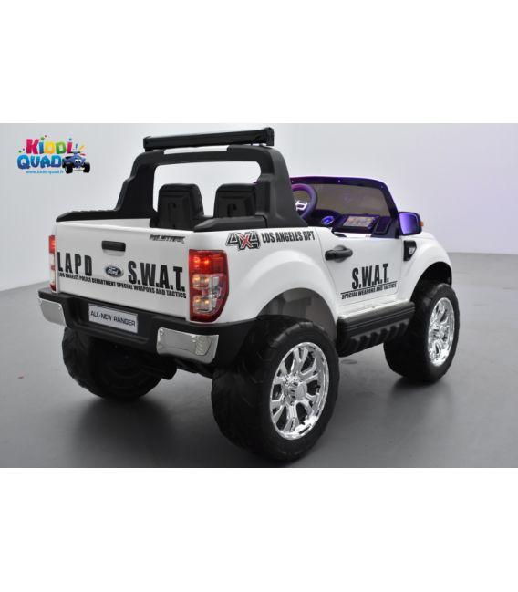 Ford Ranger S.W.A.T. feux de patrouille sirène 2 x 12 volts avec télécommande parentale 2.4 GHz