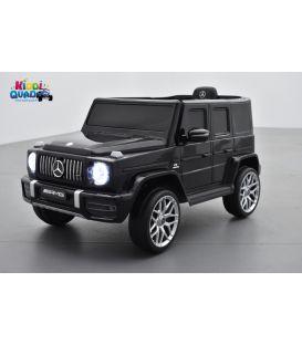 Mercedes G63 AMG Noir Métallisée, Bluetooth, voiture électrique pour enfant, 12 Volts - 2 moteurs