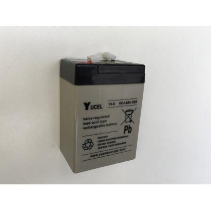 Batterie YUCEL 6V 4 Ah pour voiture et moto électrique enfant