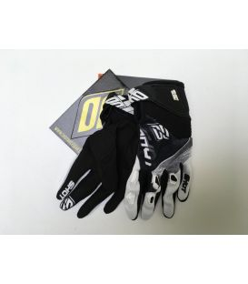 Gants cross enfant Shot Ultimate Noir/Blanc moto quad
