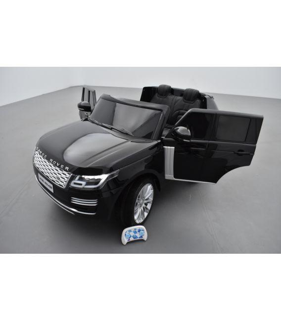 Range Rover, Finition Autobiography HSE, Noir Métallisée, 2 Places, voiture électrique enfant télécommande parentale, 12 Volts -