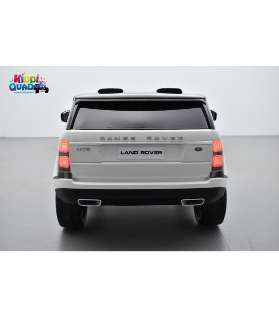 Range Rover, Finition Autobiography HSE, Blanc, 2 Places, voiture électrique enfant télécommande parentale, 12 Volts - 2 moteurs