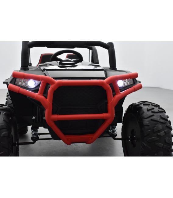 Beach Buggy 24 Volts électrique enfant noir, buggy électrique enfant 24 Volts 7 Ah, 2 moteurs