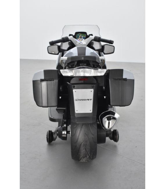 BMW R 1200 RT Gris, moto électrique pour enfant 12 Volts