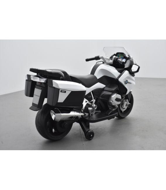 BMW R 1200 RT Blanc, moto électrique pour enfant 12 Volts