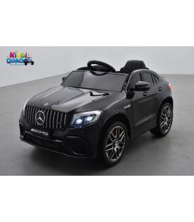 Mercedes GLC 63S Noir Métallisée, voiture électrique pour enfant, 12 Volts - 2 moteurs