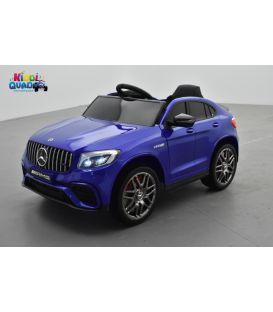 Mercedes GLC 63S Bleu Métallisée, voiture électrique pour enfant, 12 Volts - 2 moteurs