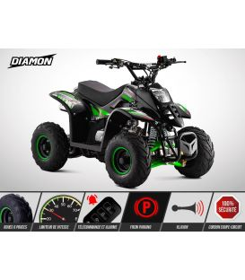 Quad enfant DIAMON 110cc vert - Limited Edition 2017
