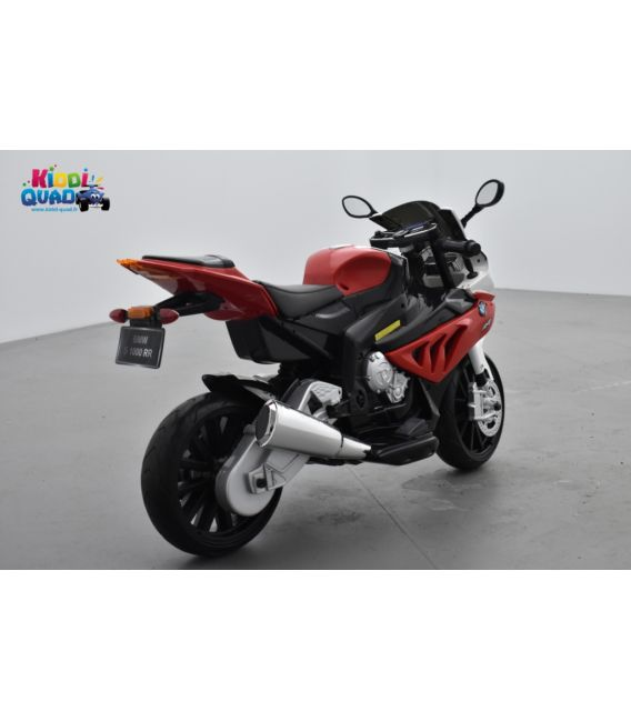 BMW S 1000 RR Rouge, moto électrique pour enfant 12 volts