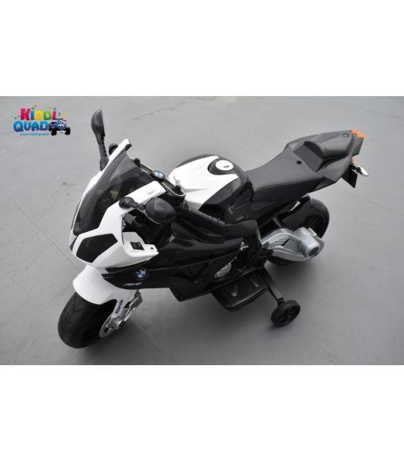 BMW S 1000 RR Noir, moto électrique pour enfant 12 volts