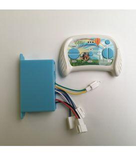 Pack boitier + télécommande pour Buggy UTV 2 x 12 Volts