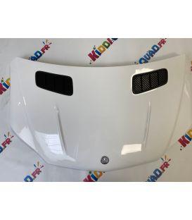 Capot blanc Mercedes GLS 63 4Matic