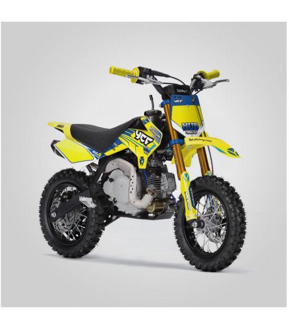 Moto essence enfant 50cc YCF Automatique Edition Limitée jaune