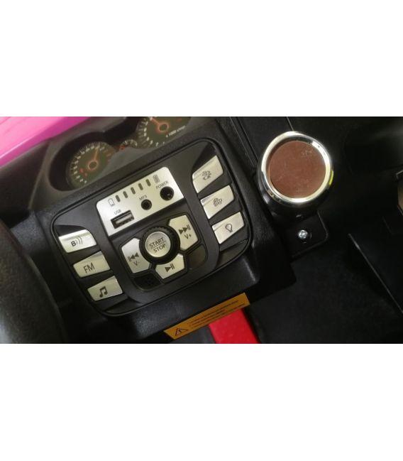 Buggy Rouge 24 Volts 7Ah 2 moteurs de 200 watts, buggy deux places, voiture électrique enfant