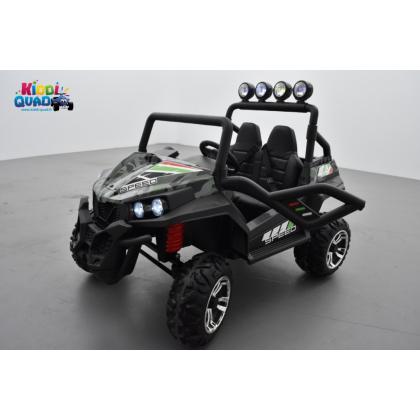 Buggy Camouflage 24 Volts 7Ah 2 moteurs de 120 watts, buggy deux places, voiture électrique enfant