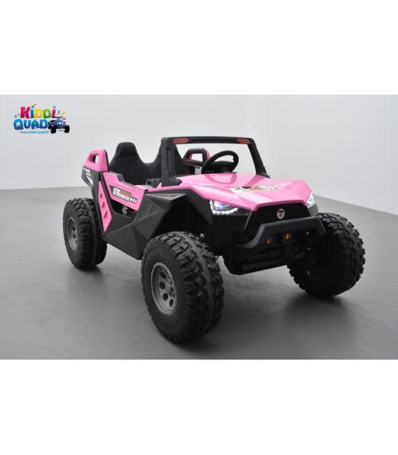 Buggy Crawler 24 Volts électrique enfant Rose, buggy électrique enfant 24 Volts 7 Ah, 4 moteurs