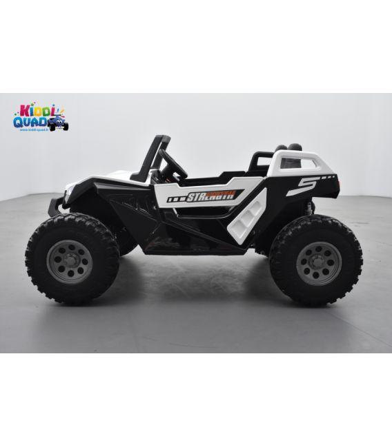 Buggy Crawler 24 Volts électrique enfant Blanc, buggy électrique enfant 24 Volts 7 Ah, 4 moteurs