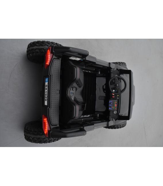 Buggy Crawler 24 Volts électrique enfant noir, buggy électrique enfant 24 Volts 7 Ah, 4 moteurs