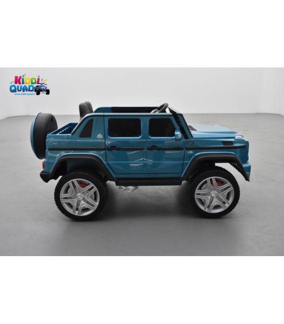 Mercedes MAYBACH G650-S Bleu Métallisée, voiture électrique pour enfant, 12 Volts - 2 moteurs