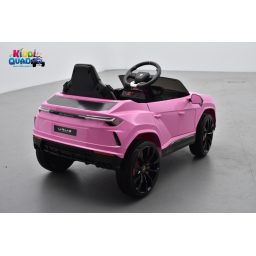 Lamborghini Urus 12 Volts Rose, voiture électrique enfant 12V - 7AH, 2 moteurs