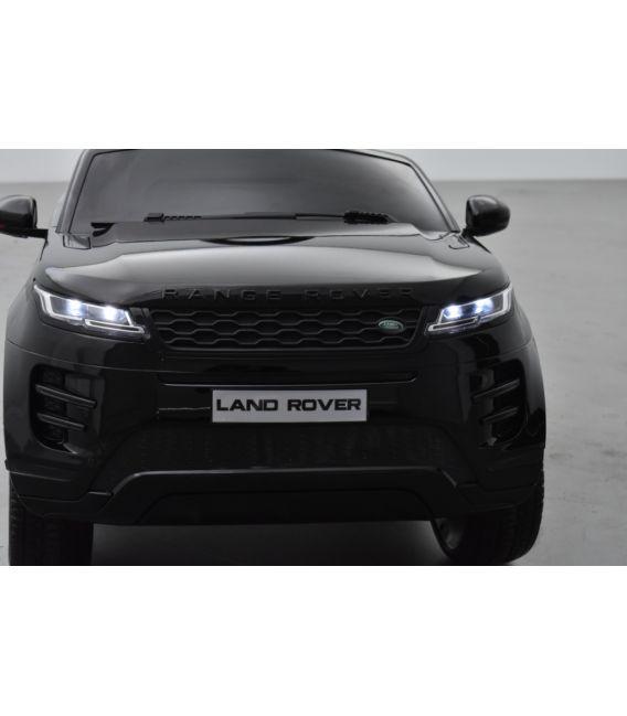 Range Rover Evoque Noir métallisé, voiture électrique pour enfant 12 Volts - 2 moteurs
