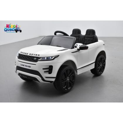 Range Rover Evoque Blanc, voiture électrique pour enfant 12 Volts - 2 moteurs