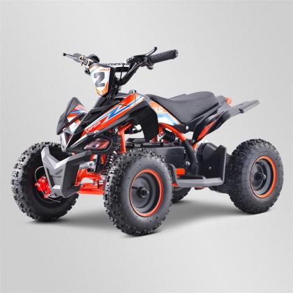 Quad electrique enfant VIPER 800W Orange Edition 2021, 36Volts